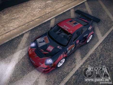 Porsche 997 GT3 RSR pour GTA San Andreas vue de dessous