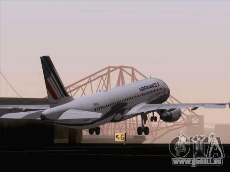 Airbus A320-211 Air France pour GTA San Andreas salon