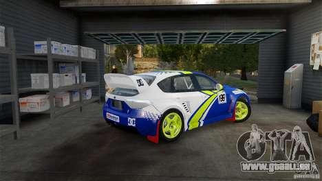 Subaru Impreza WRX STI Rallycross BFGoodric pour GTA 4 est une gauche