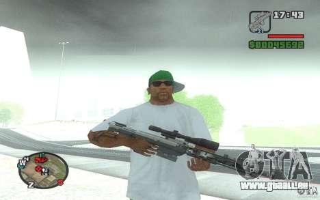 Un fusil de sniper d'une Ballad of Gay Tony pour GTA San Andreas
