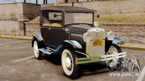 Ford Model T 1924 pour GTA 4