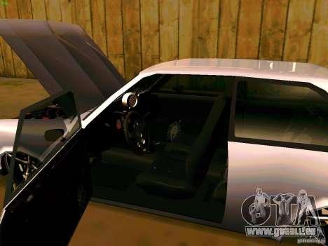 Chevrolet Chevette 1976 TDW Edit für GTA San Andreas Rückansicht