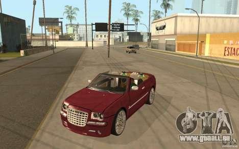 Chrysler 300c Roadster Part2 für GTA San Andreas
