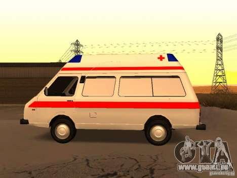 RAPH 2914 tampographie pour GTA San Andreas laissé vue