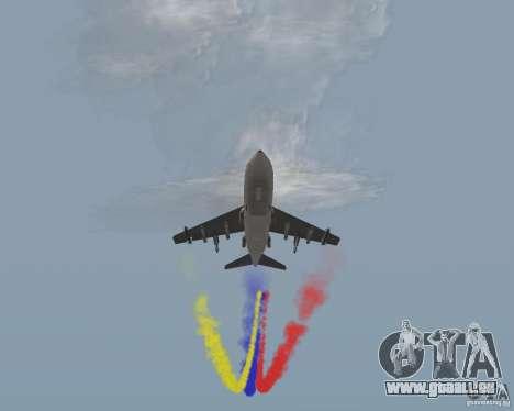 Bunt Streifen für Flugzeuge für GTA San Andreas her Screenshot