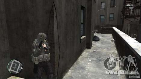 MW2 Ghost Diving Suit für GTA 4 weiter Screenshot