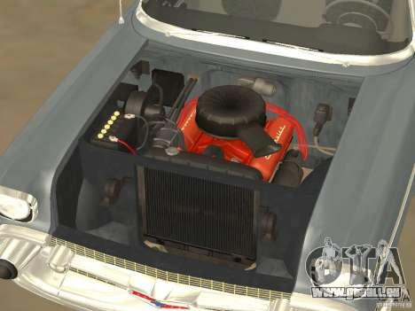 Chevrolet Bel Air 1957 für GTA San Andreas Rückansicht