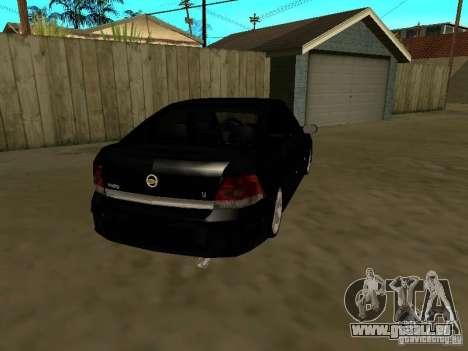 Chevrolet Vectra Elite 2.0 pour GTA San Andreas vue de droite