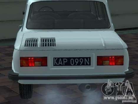 ZAZ 968 m Limousine für GTA San Andreas Seitenansicht
