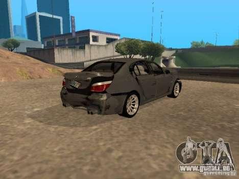 BMW M5 E60 2009 v2 pour GTA San Andreas
