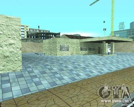 HD Garage de Doherty pour GTA San Andreas deuxième écran