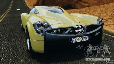 Pagani Huayra 2011 v1.0 [EPM] pour GTA 4 Vue arrière de la gauche