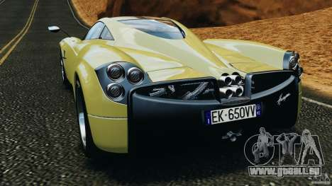 Pagani Huayra 2011 v1.0 [EPM] für GTA 4 hinten links Ansicht