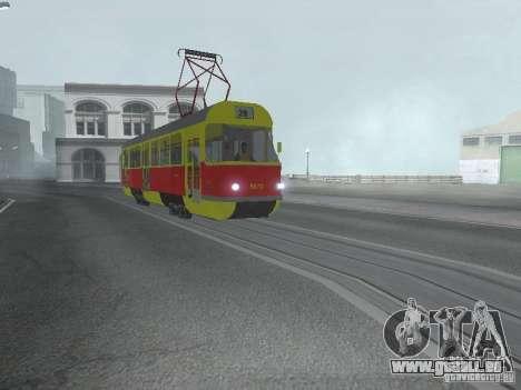 Tatra T3SU für GTA San Andreas linke Ansicht