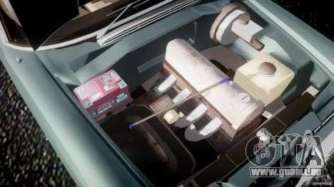 Mercedes-Benz W111 v1.0 pour GTA 4 est une vue de dessous