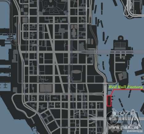 Red Bull Factory für GTA 4 sechsten Screenshot