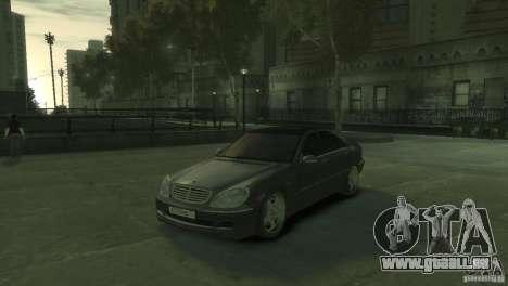 Mercedes Benz S550 für GTA 4
