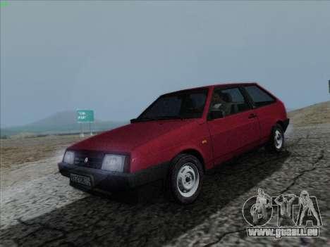 VAZ 21083i für GTA San Andreas rechten Ansicht