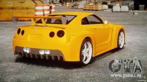 Nissan Skyline R35 GTR für GTA 4 Innenansicht