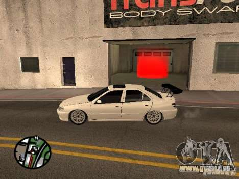 Peugeot 406 Tuning für GTA San Andreas linke Ansicht