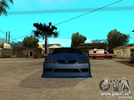 Ford Mustang Cobra R Tuneable für GTA San Andreas rechten Ansicht
