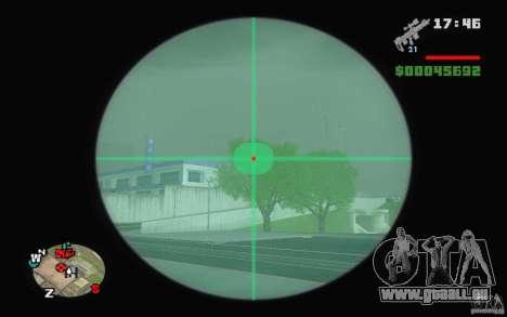 Un fusil de sniper d'une Ballad of Gay Tony pour GTA San Andreas deuxième écran