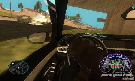 Chechen Speedometr für GTA San Andreas dritten Screenshot