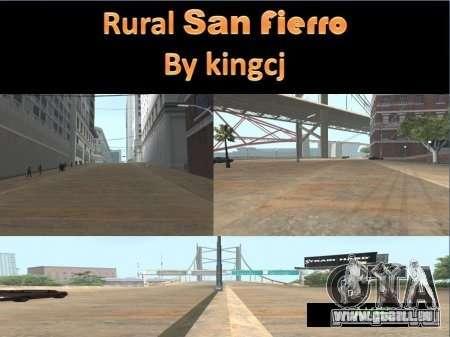 Routes de San Fejro pour GTA San Andreas