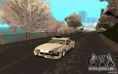 Elegy Rat by Kalpak v1 pour GTA San Andreas vue de dessous
