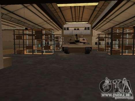 Die wiederbelebten Militärbasis in Docks v3. 0 für GTA San Andreas her Screenshot