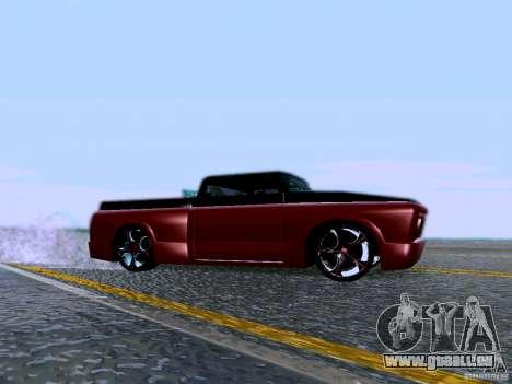 Slamvan Tuned pour GTA San Andreas laissé vue