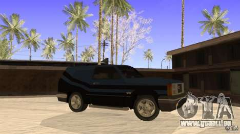 Sandking EX V8 Turbo für GTA San Andreas linke Ansicht