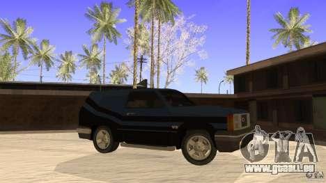 Sandking EX V8 Turbo pour GTA San Andreas laissé vue