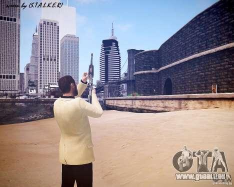 Carabine M4A1 pour GTA 4 cinquième écran