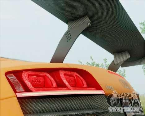 Audi R8 LMS GT3 für GTA San Andreas rechten Ansicht