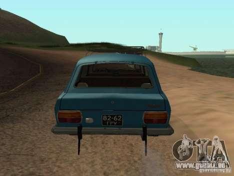 IZH 2125 v2 pour GTA San Andreas vue de droite
