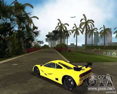 McLaren F1 LM pour une vue GTA Vice City de la gauche