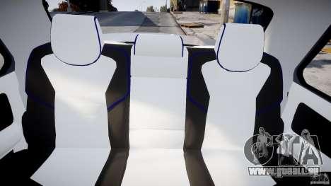 GAZ 3110 Turbo WRX STI v1. 0 für GTA 4 Rückansicht
