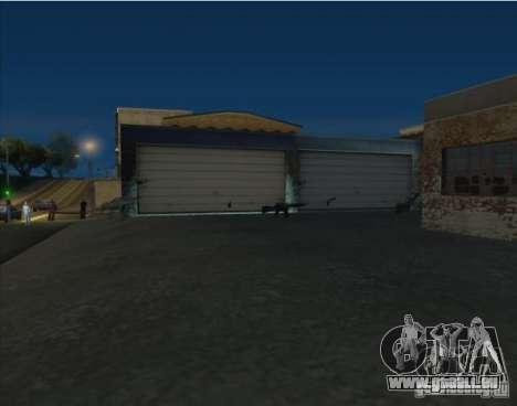 Armes et voitures partout sur la carte pour GTA San Andreas troisième écran