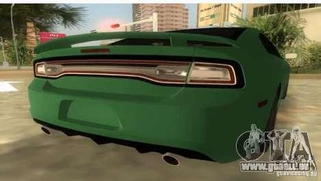 Dodge Charger pour une vue GTA Vice City de la gauche