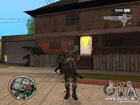 Sammlung von Waffen von Crysis 2 für GTA San Andreas
