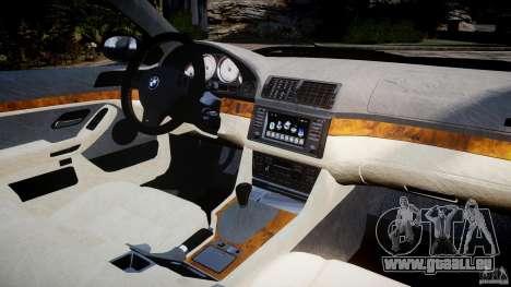 BMW M5 E39 Stock 2003 v3.0 pour GTA 4 est un droit
