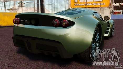 Hennessey Venom GT 2010 [EPM] pour GTA 4 Vue arrière de la gauche