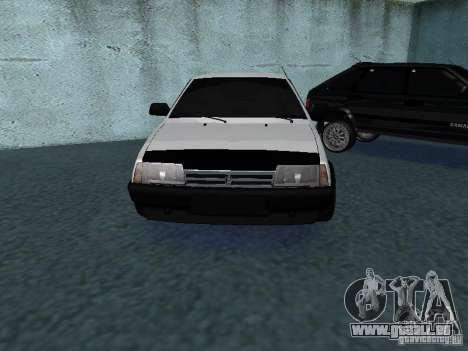 VAZ 2109 tunable für GTA San Andreas Seitenansicht