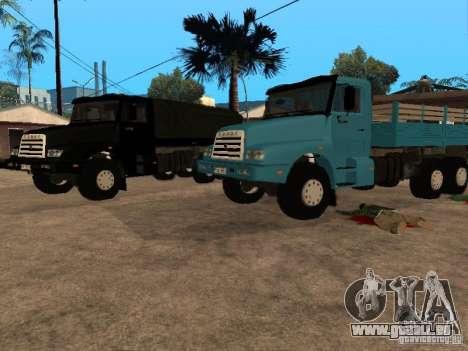 KAMAZ-4355 pour GTA San Andreas laissé vue
