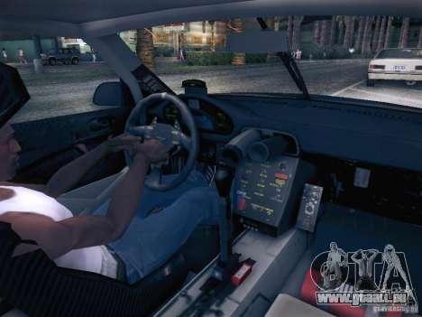 Porsche 997 GT3 RSR pour GTA San Andreas vue arrière