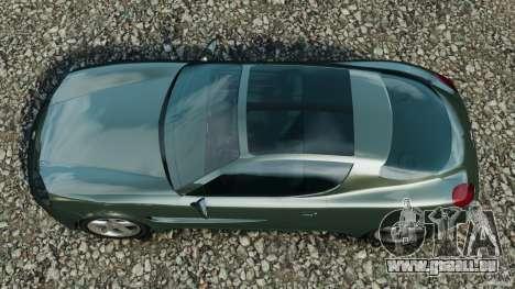 Daewoo Bucrane Concept 1995 pour GTA 4 est un droit