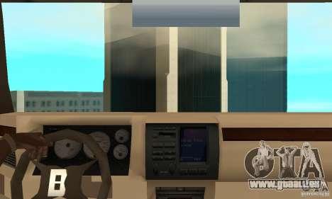 Jemala pour GTA San Andreas vue de droite