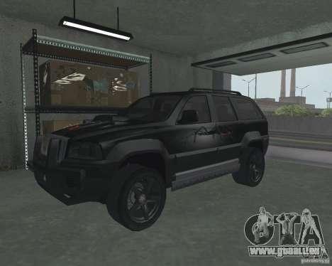 VUS depuis NFS pour GTA San Andreas laissé vue
