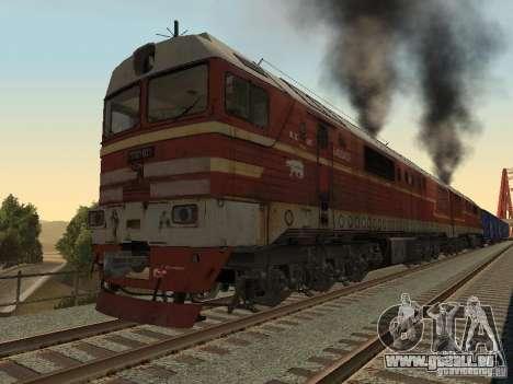 2TÈ121-023 pour GTA San Andreas laissé vue